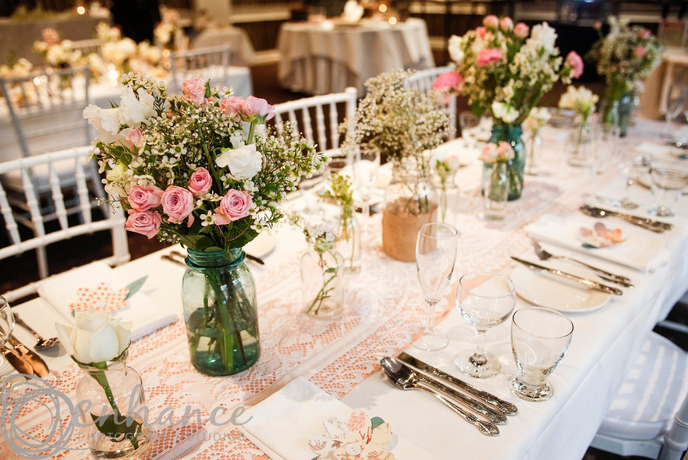 wedding decorations for tables vintage diy at the brighton savoy wedding stylist 9117