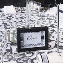 black-table-frames